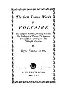 The Best Known Works of Voltaire