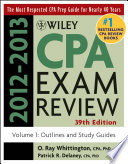 Wiley Cpa Examination Review Outlines And Study Guides