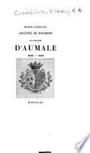 Marie-Caroline Auguste de Bourbon, duchesse d'Aumale, 1822-1869