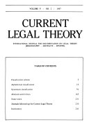 Current Legal Theory