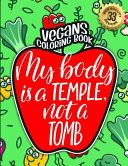 Vegans Coloring Book
