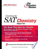 Cracking the SAT Chemistry Subject Test