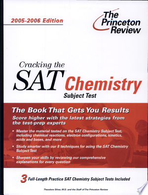 Read FreeCracking the SAT Chemistry Subject Test Online Books - Read Book Online PDF Epub