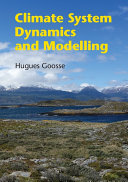 Climate System Dynamics and Modeling