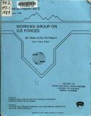 Working Group on Ice Forces