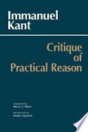 Critique Of Practical Reason Book