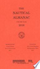 Nautical Almanac For The Year 2018