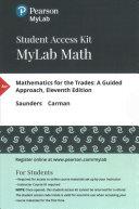 Mathematics for the Trades MyLabMath Access Card