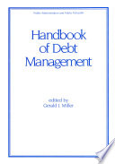 Handbook of Debt Management