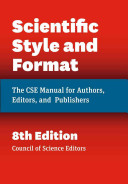 Scientific Style And Format Book PDF