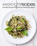 Weeknight Recipes Book PDF