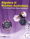 Algebra II Station Activities for Common Core State Standards