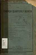 The Church Quarterly Review