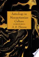 Astrology In Mesopotamian Culture