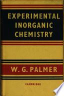 Experimental Inorganic Chemistry Book