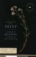 Interacting with Print Pdf/ePub eBook