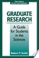 Graduate Research Book