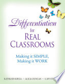 Differentiation for Real Classrooms
