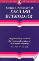 The Concise Dictionary of English Etymology