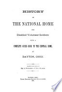 History of the National Home for Disabled Volunteer Soldiers