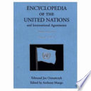 Encyclopedia Of The United Nations And International Agreements A To F