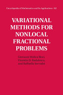 Variational Methods for Nonlocal Fractional Problems