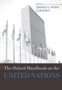 Cover of The Oxford Handbook on the United Nations