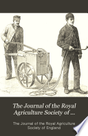 The Journal Of The Royal Agriculture Society Of England Third Series