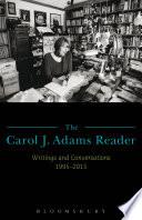 The Carol J  Adams Reader