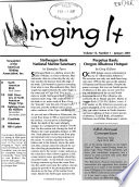 W Inging it  : Newsletter of the American Birding Association, Inc , Band 13