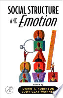 Social Structure And Emotion Book PDF