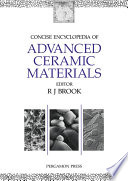 Concise Encyclopedia Of Advanced Ceramic Materials Book PDF