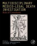 Multidisciplinary Medico Legal Death Investigation