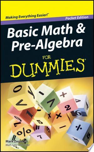 Download Basic Math and Pre-Algebra For Dummies PDF Book - PDFBooks