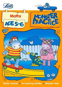 Letts Monster Practice E Maths Age 5-6