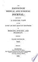 Edinburgh Medical And Surgical Journal Book