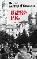 Pdf Le Général De Gaulle et la Russie Telecharger