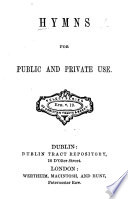 Hymns for public and private use
