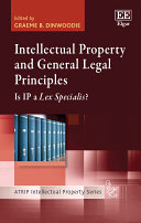 Pdf Intellectual Property and General Legal Principles Telecharger
