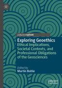 Exploring Geoethics