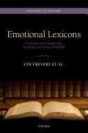 Emotional Lexicons