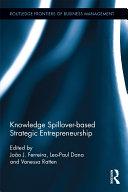 Pdf Knowledge Spillover-based Strategic Entrepreneurship Telecharger