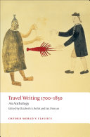 Travel Writing 1700-1830