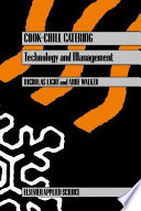 Cook Chill Catering  Technology and Management