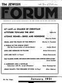 The Jewish Forum