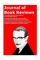 Journal of Book Reviews-21 Lessons for the 21st Century by Yuval Noah Harari