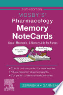 Mosby s Pharmacology Memory NoteCards   E Book Book