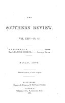 Pdf The Southern Review