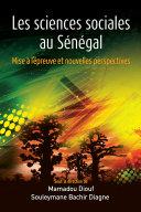 Pdf Les sciences sociales au Sénégal Telecharger