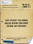 Staff Officers' Field Manual